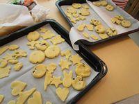 バレンタインクッキー作り